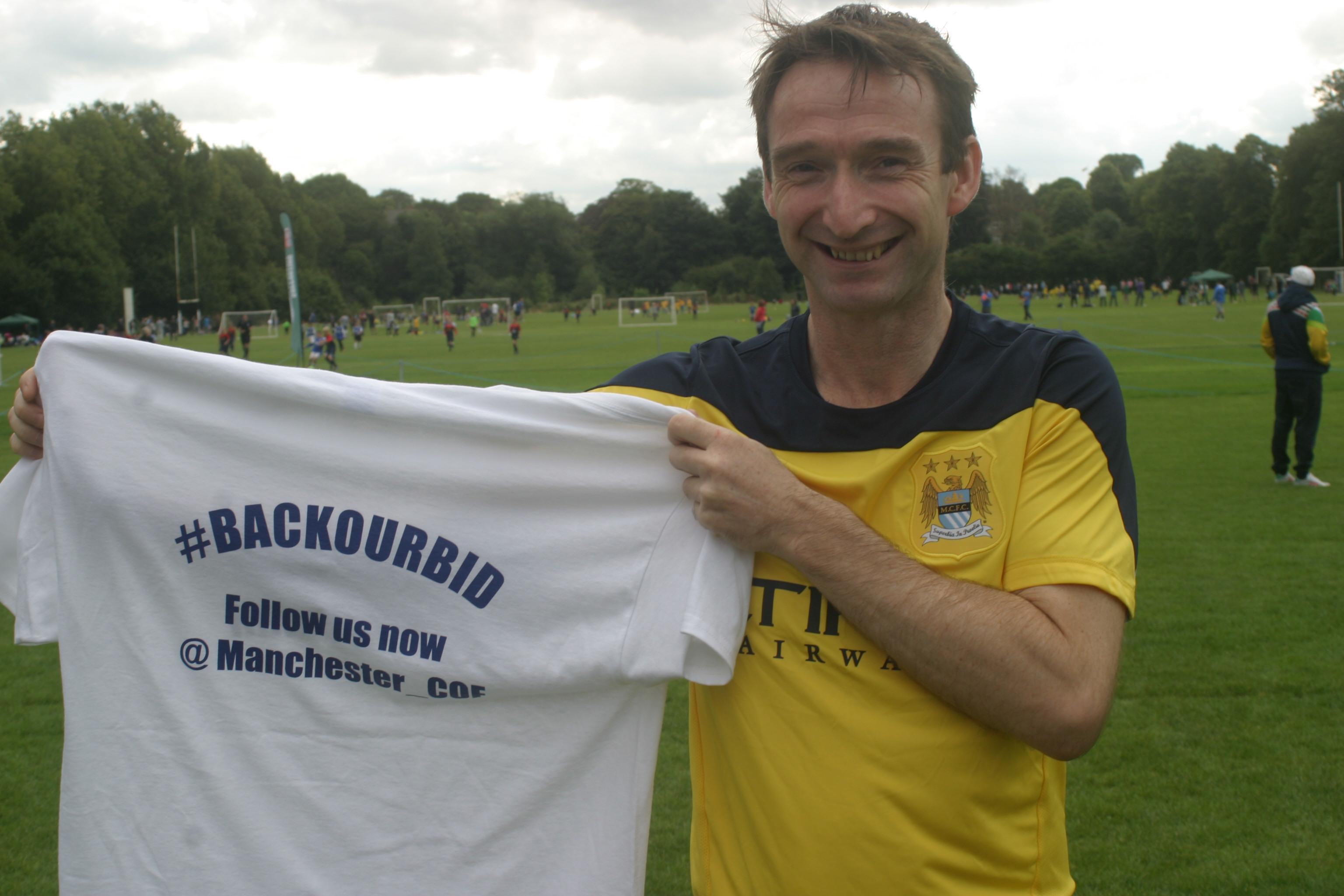 John Leech backing City of Football bid