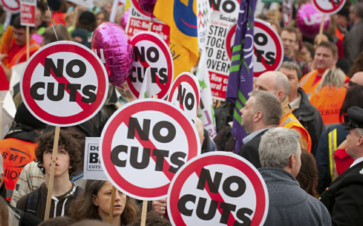 UNDER THREAT: Conservative funding cuts put vital services at risk