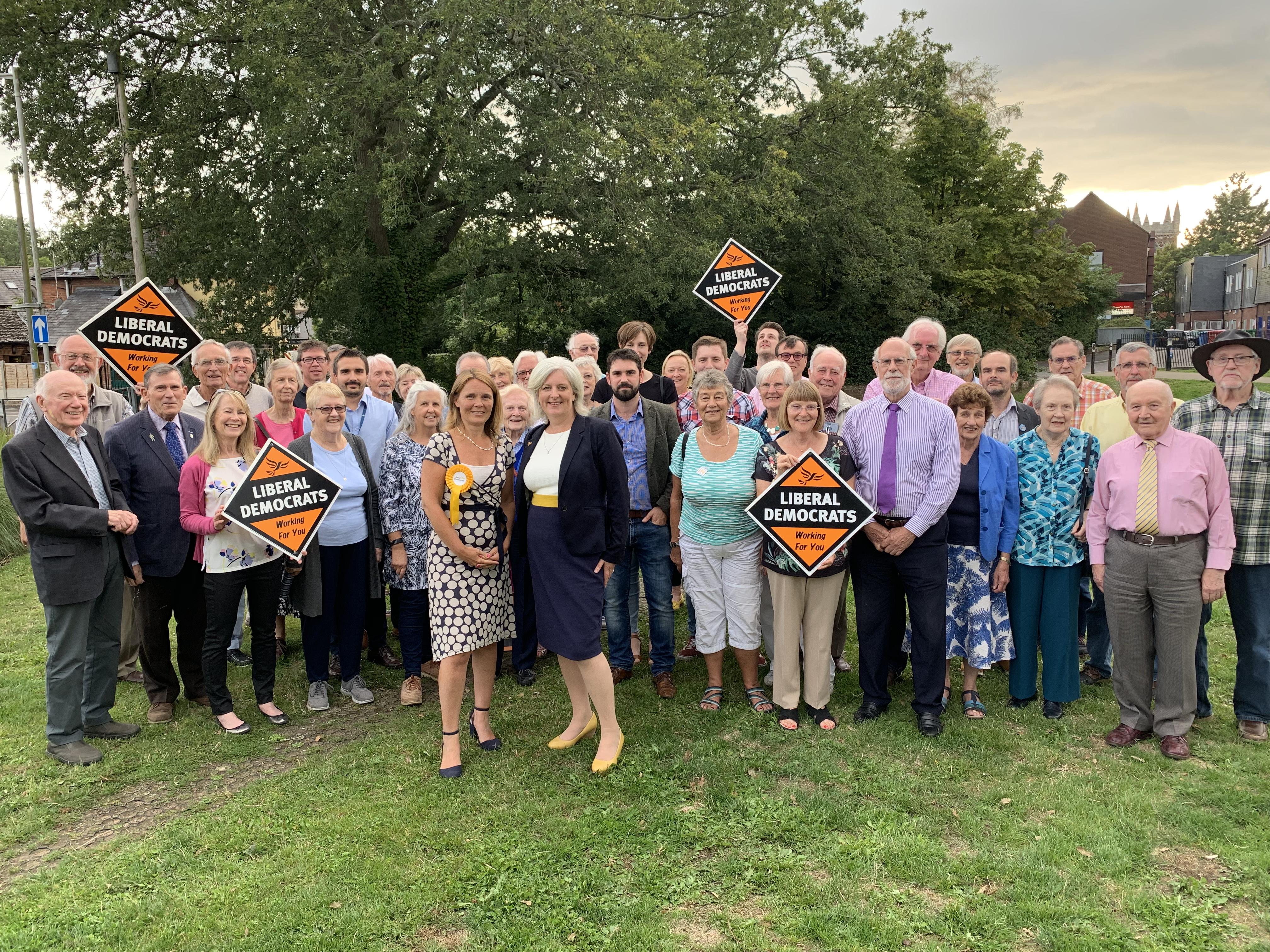 Caroline Voaden MEP visits Mid Dorset & North Poole