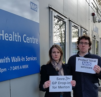 Claire & Carl want more investment in local NHS services