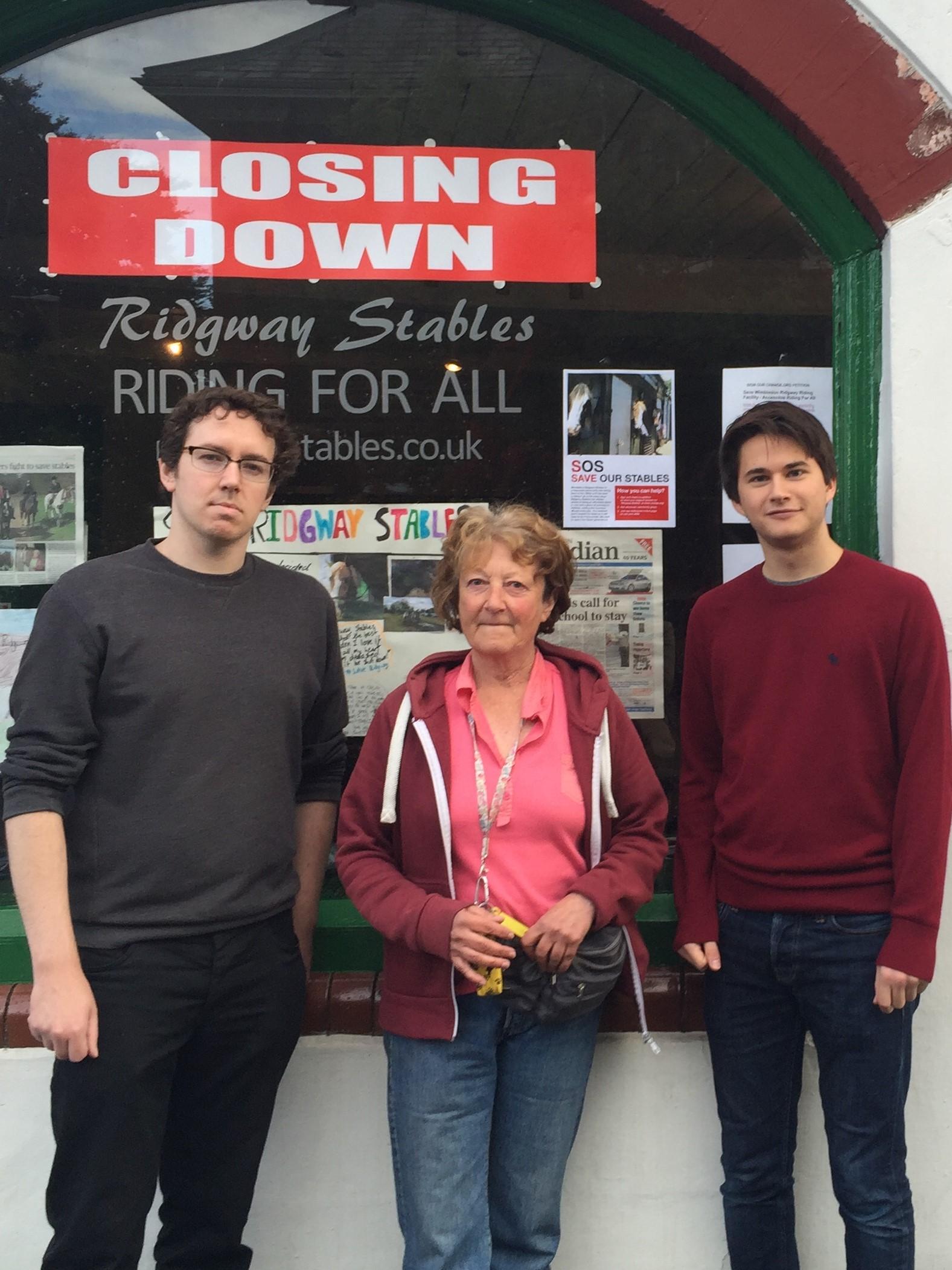 Lib Cems Carl Quilliam & Hugo Forshaw with Julia Hardy