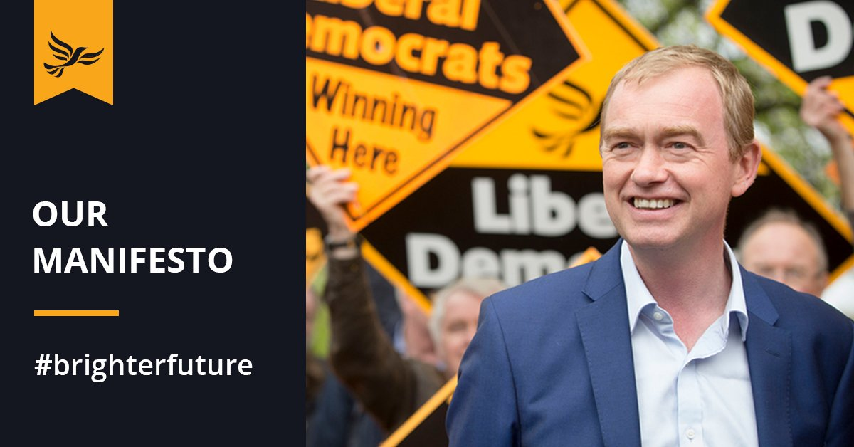 Lib Dem manifesto - one thing you should know
