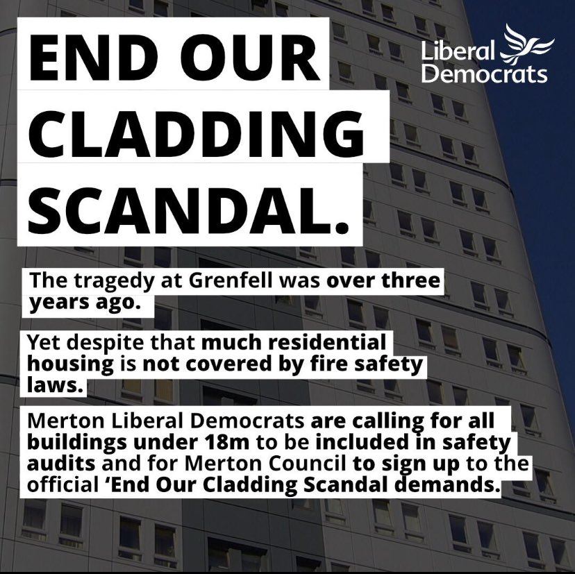 Lib Dems move motion to end cladding scandal