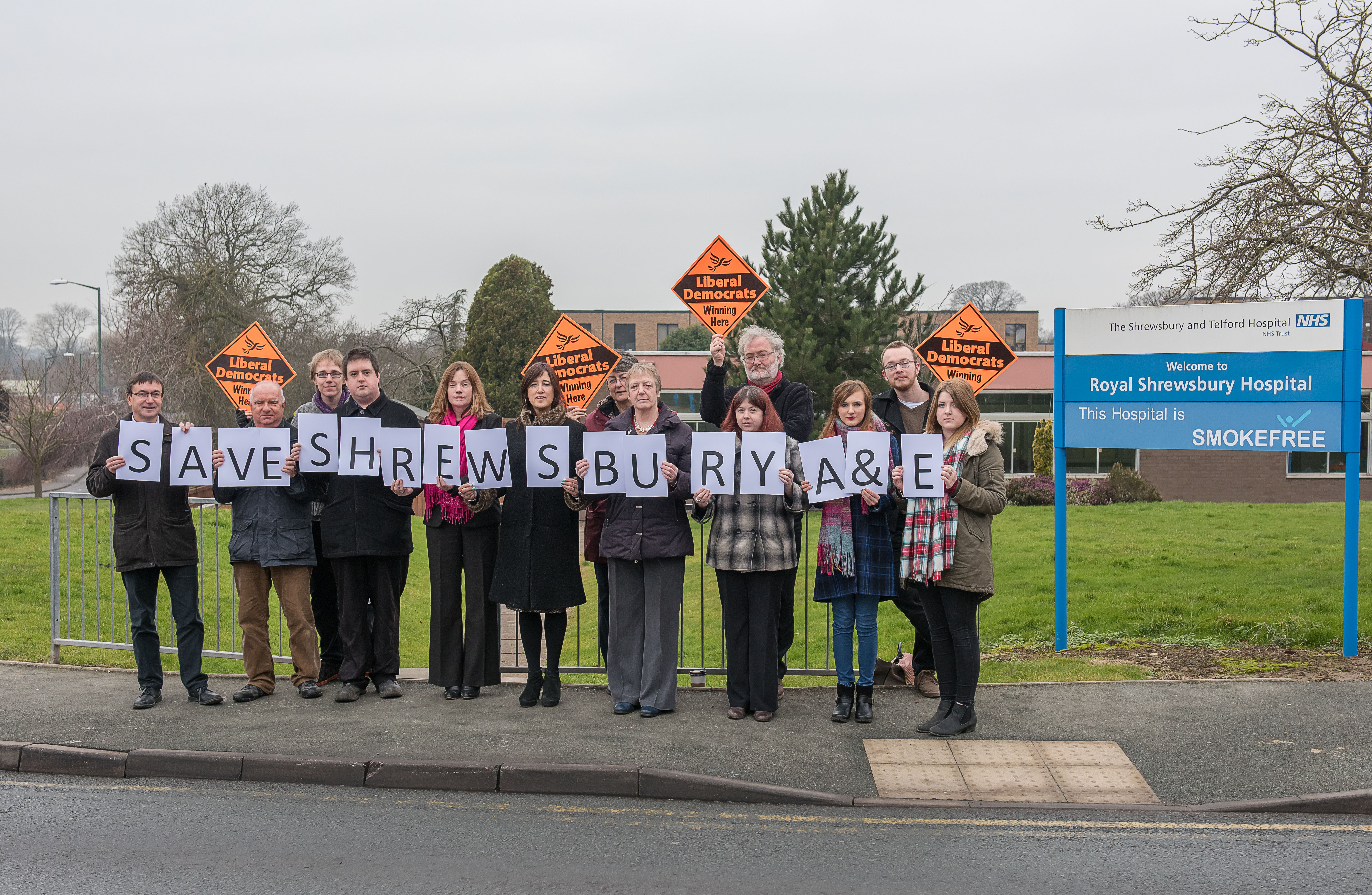 Save Shrewsbury A&E