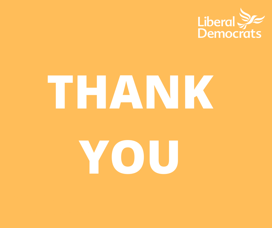 Thank you for your support. You've increased our Vote Share in Newham, Barking and Dagenham.