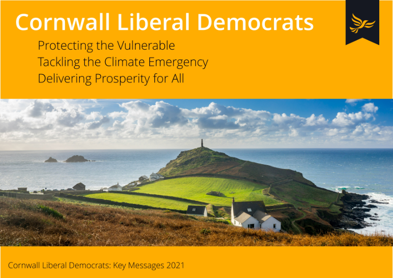 Liberal Democrats set out vision for Cornwall with manifesto launch