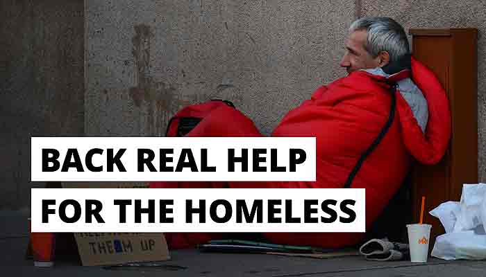 Graphic - Real help for the homeless