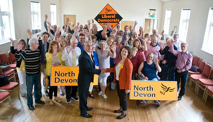 North Devon Lib Dems welcome Dr. Kirsten Johnson as their new Prospective Parliamentary Candidate.