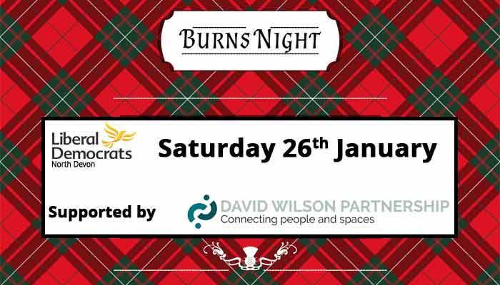Burns' Night Supper - 26th January