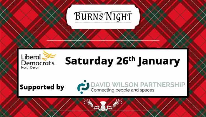 Burns' Night Supper - 26th January