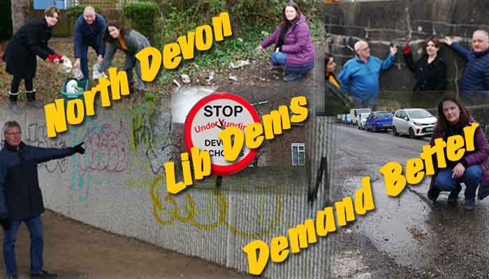 North Devon Lib Dems Demand Better