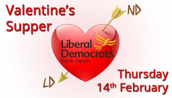 Valentine's supper - Thursday 14th February