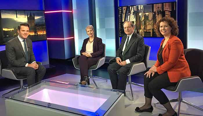 Kirsten Johnson Liberal Democrat Parliamentary Spokesperson appearing on ITV