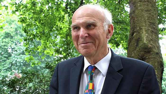 Liberal Democrat Leader, Sir Vince Cable
