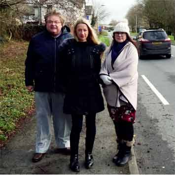 Jeremy Phillips, Nicola Topham and Julie Hunt