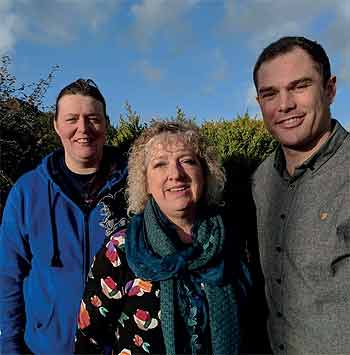 Helen Walker,Joy Cann and Will Topps