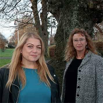 Louisa York and Caroline Leaver