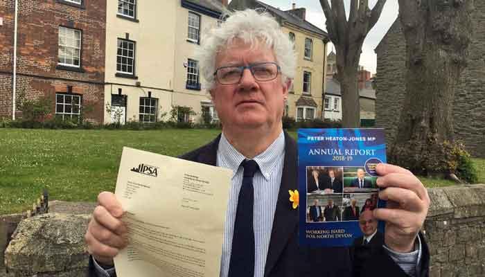 Tory MP Peter Heaton-Jones Caught Misusing Expenses by Parliamentary Authorities