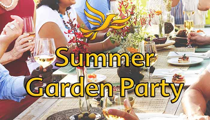 North Devon Lib Dems Garden Party