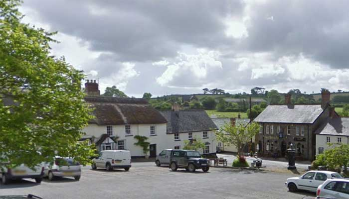 Looking out over The Square, Chttlehampton