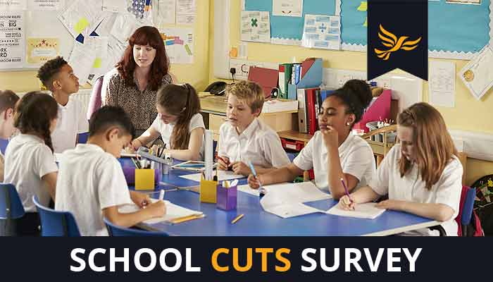 How do the spending cuts affect your child's school?