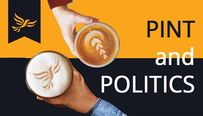 Pint & Politics - Fremington