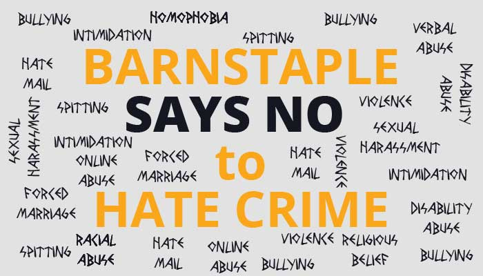 Barnstaple Town Council signs up to fight against hate crime
