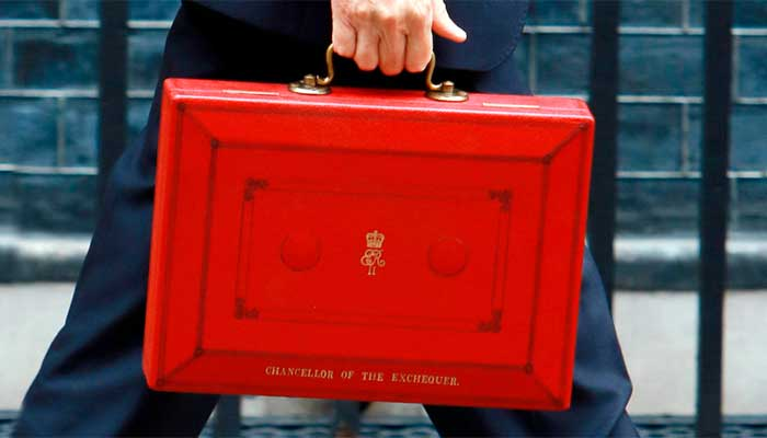 Chancellor of the exchequer's red box