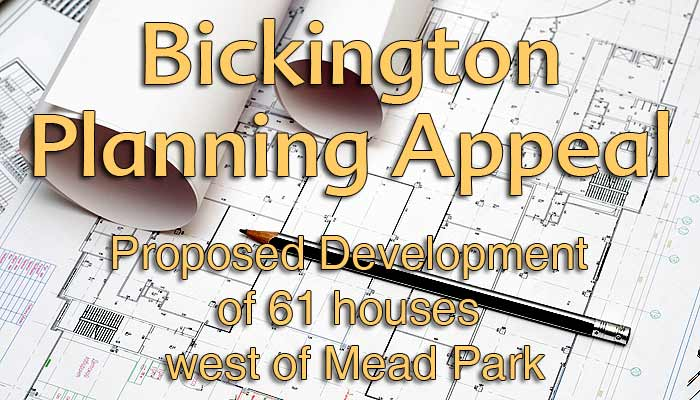Bickington Planning Appeal graphic