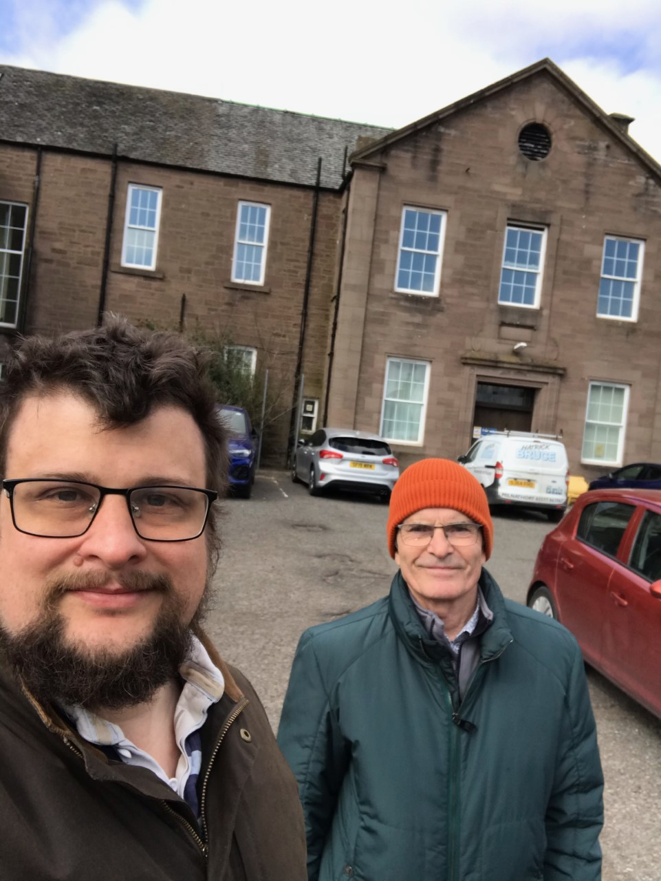 Turvey calls on NHS Tayside to allow volunteers to restore abandoned Brechin Infirmary site