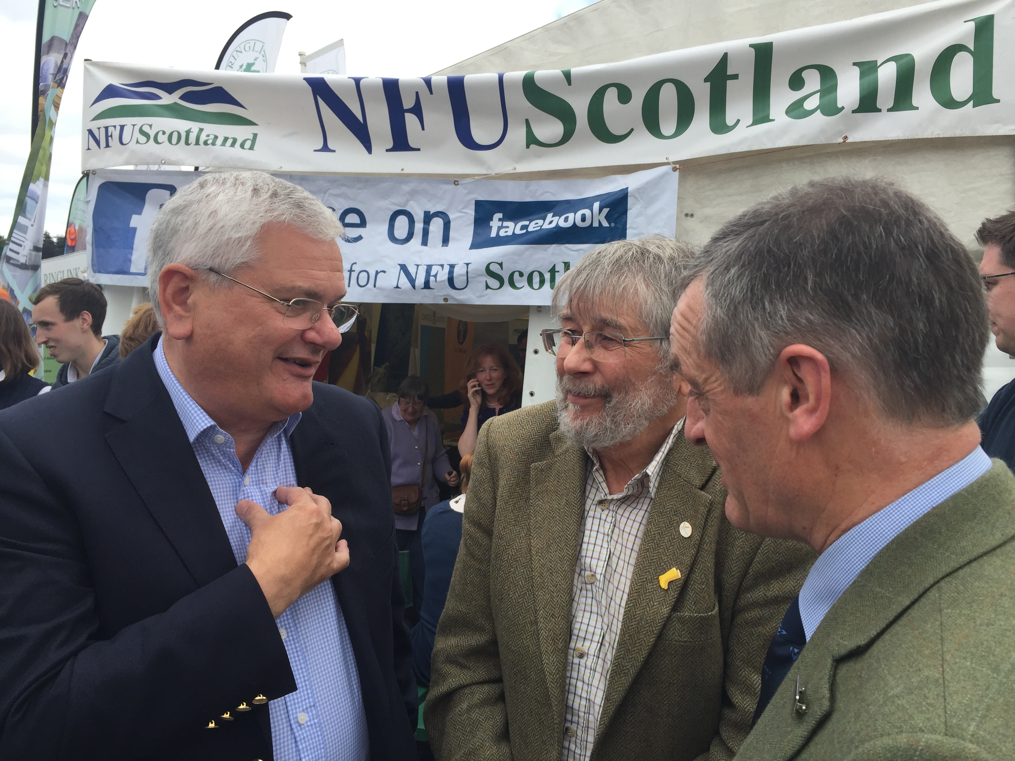 Mike at Turriff Show