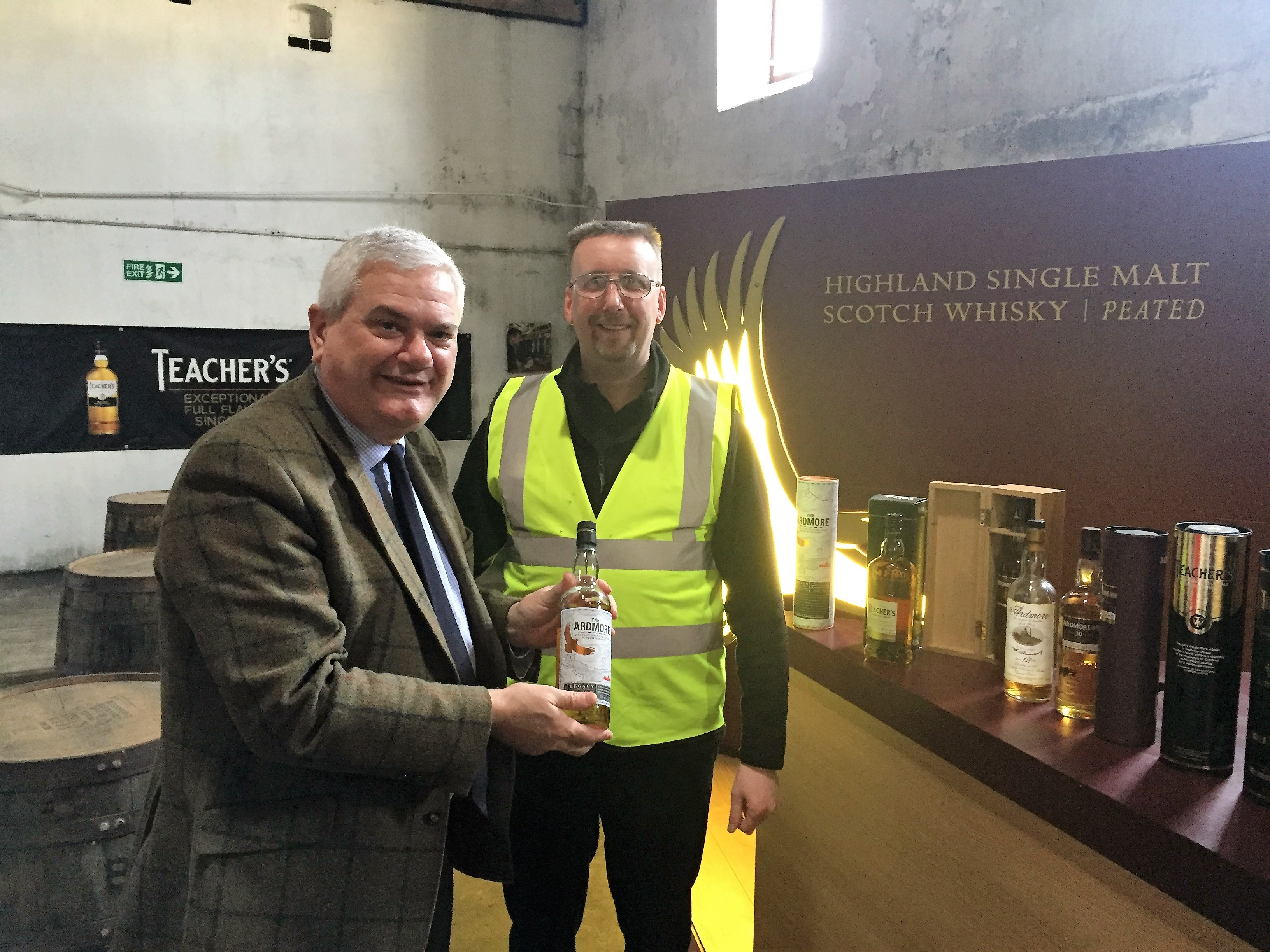 Rumbles welcomes distilleries green credentials.