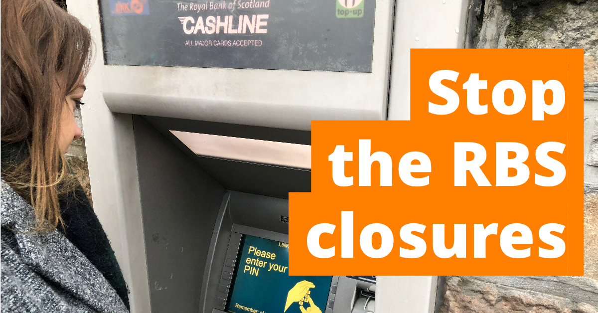 Stop the RBS closures