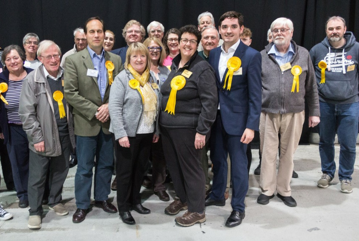 Lib Dems surge in Euro election