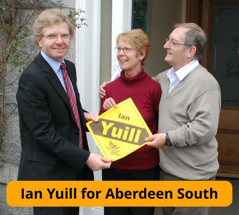 Ian Yuill is Lib Dem choice for Aberdeen South