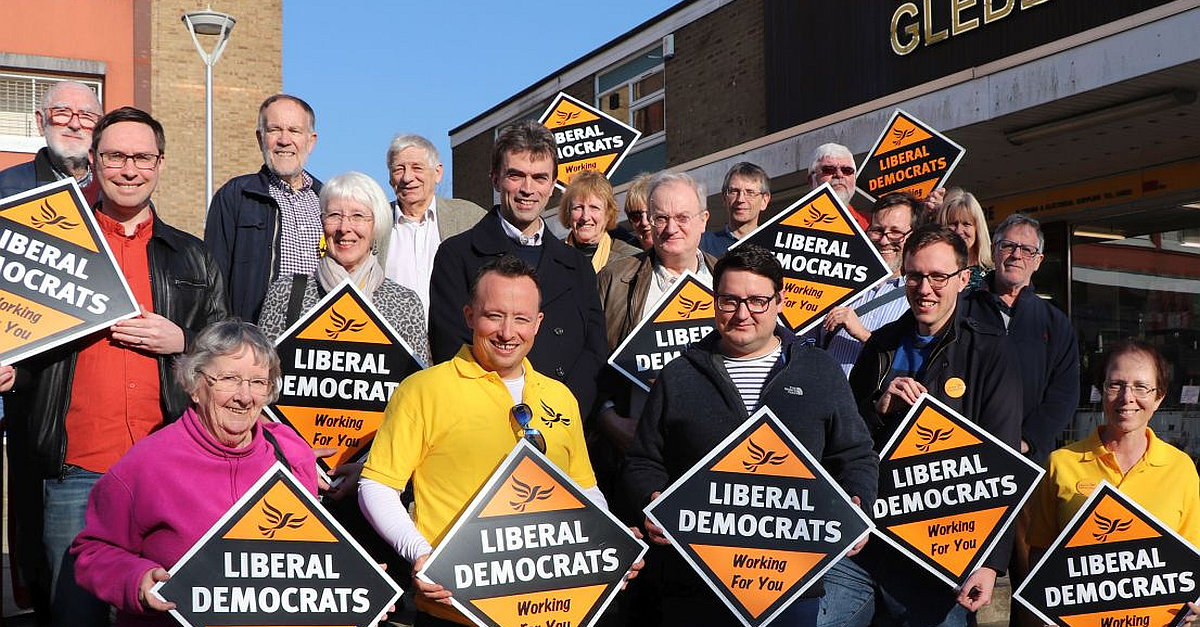 Volunteer to help the Lib Dems grow in Stevenage