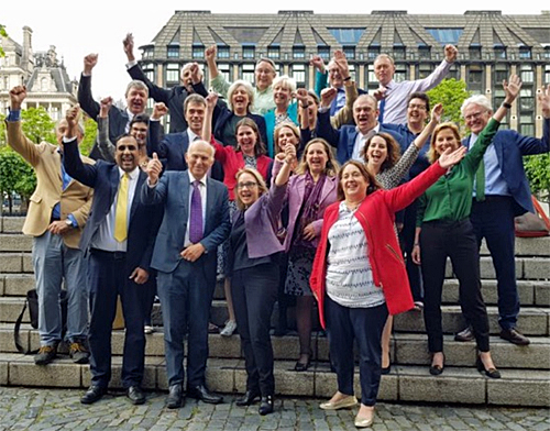 Combined Liberal Democrat MPs and MEPS meet together at Westminster this week