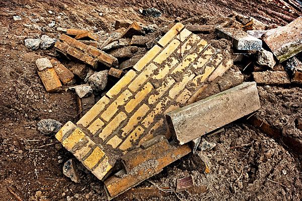 Brick waste