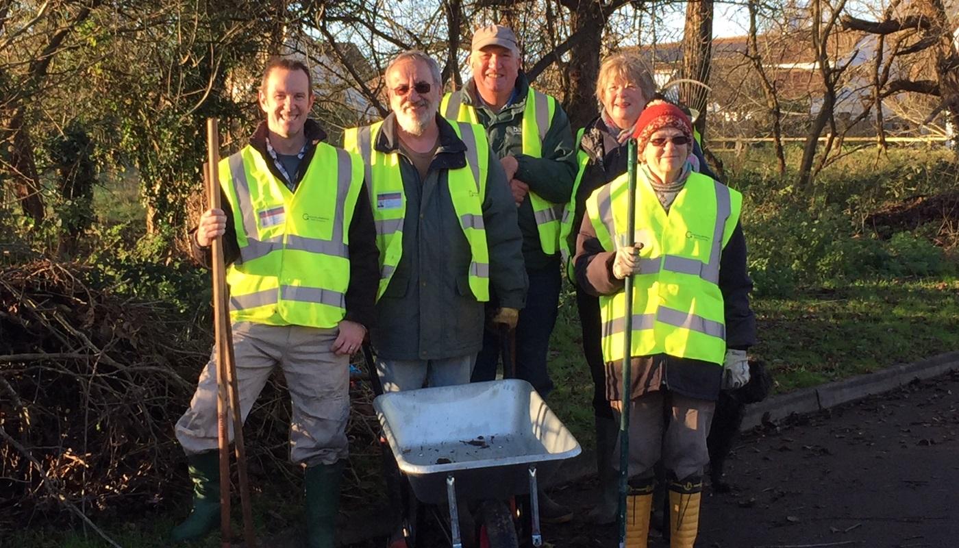 Lib Dem Councillor assists Community Resilience Team