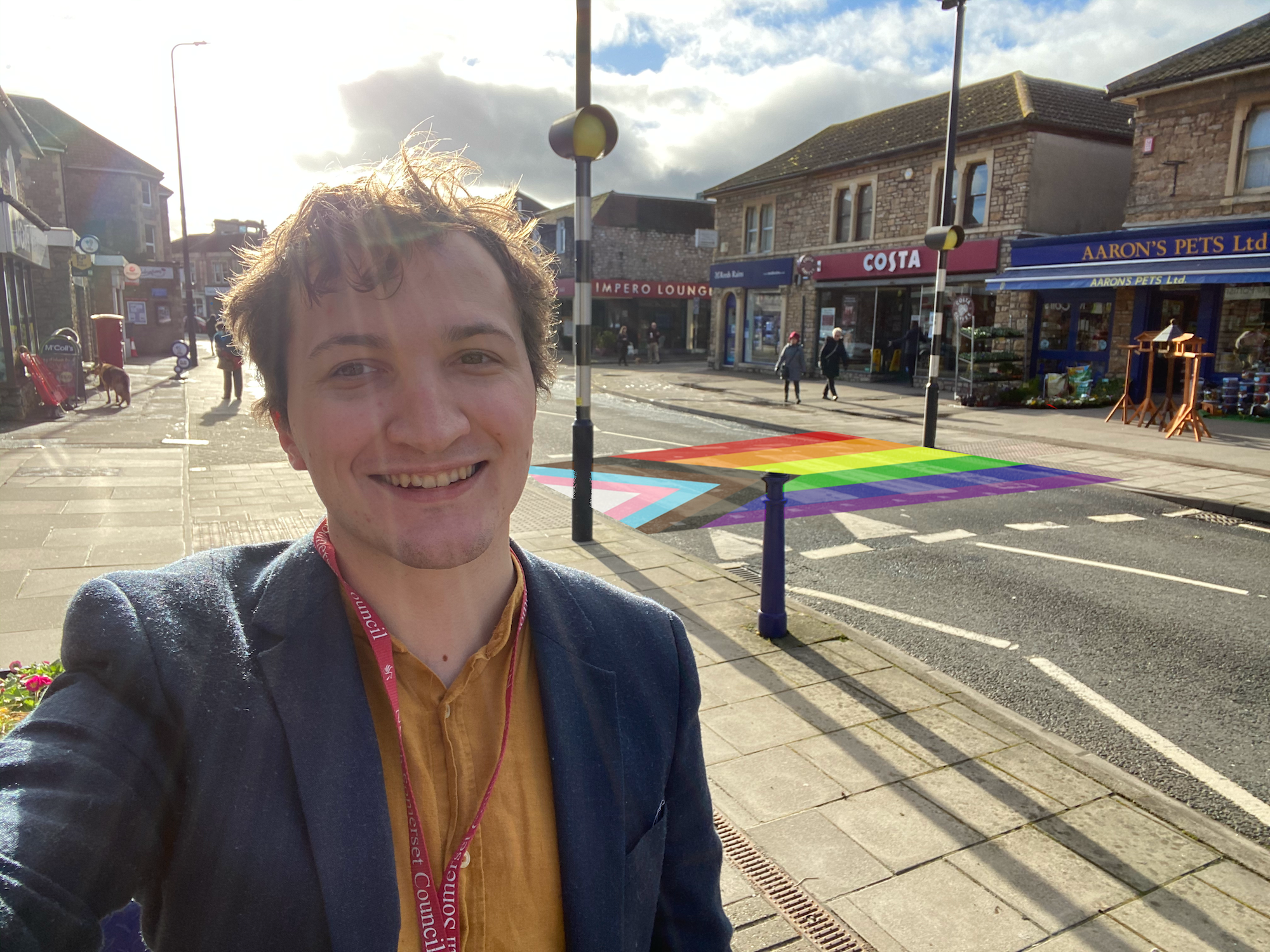 Petition: Rainbow Crossing on Portishead High Street