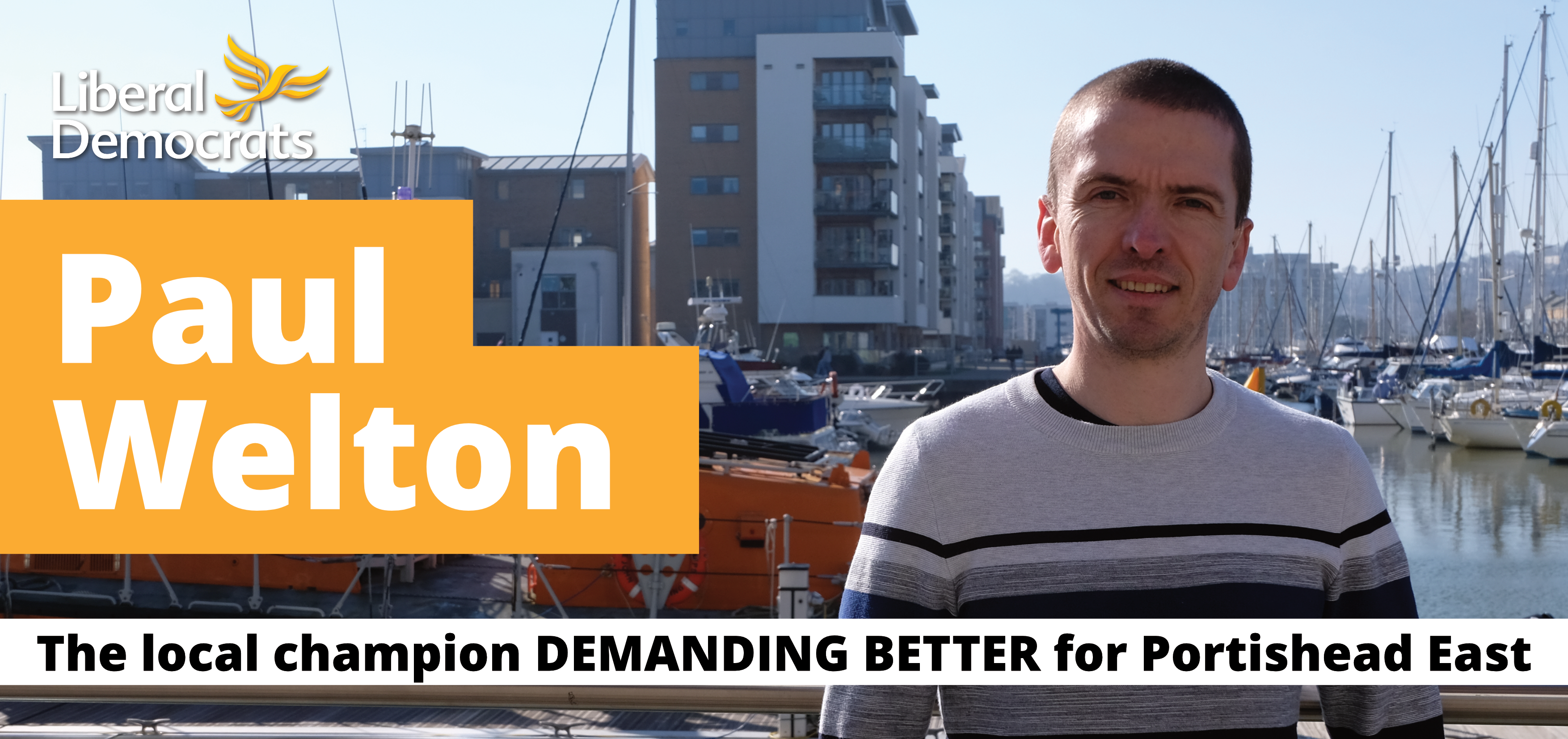 Paul Welton demanding better for Portishead East
