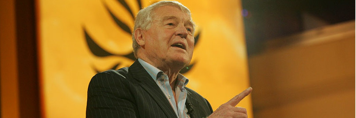In tribute to Paddy Ashdown