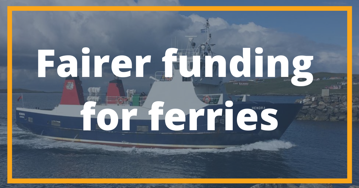 Fairer Ferry Funding