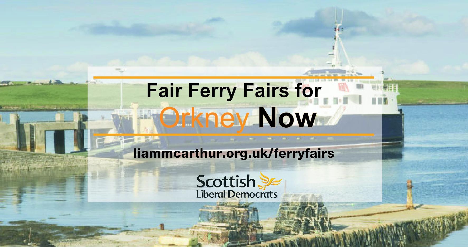Fair Ferry Fares