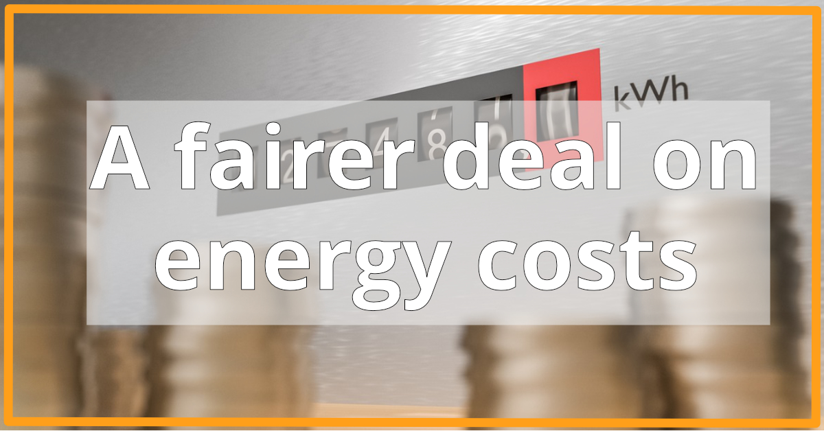 A Fairer Deal on Energy Costs