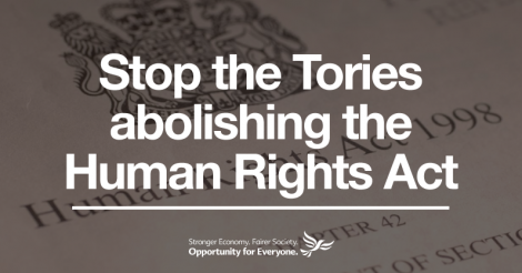 Save The Human Rights Act
