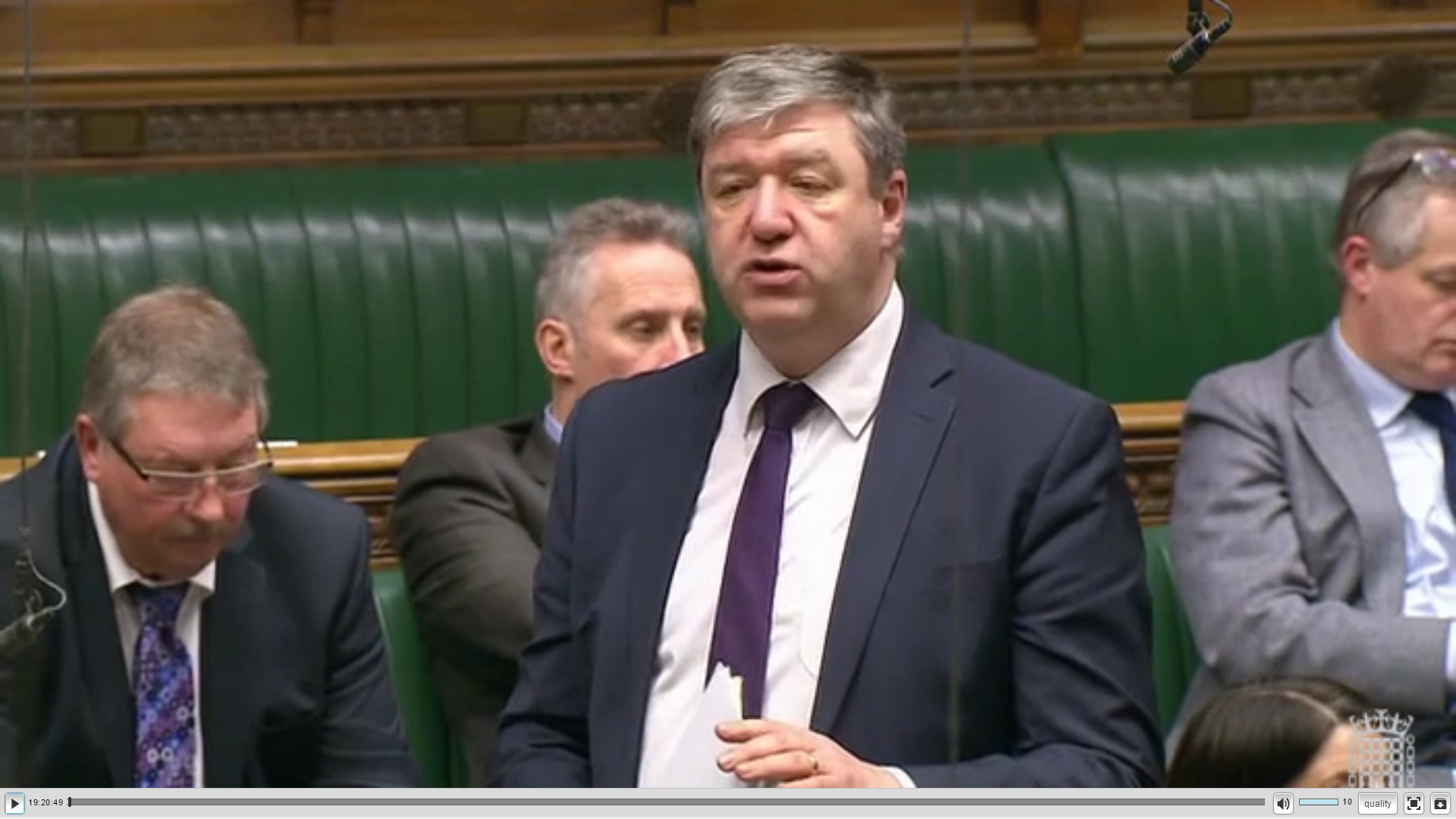 Carmichael Tells Commons of Importance of EU Nationals To Life In The Isles