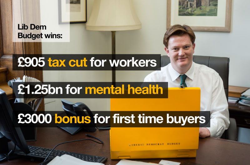 Budget 2015 Packed with Liberal Democrat Policies