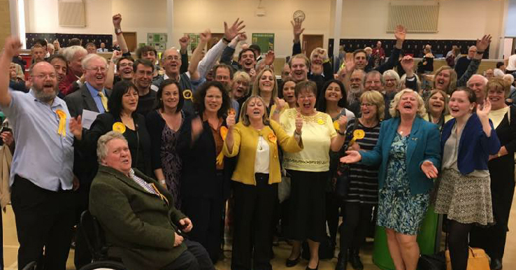 Lib Dems beat Conservatives across Oxford West & Abingdon constituency