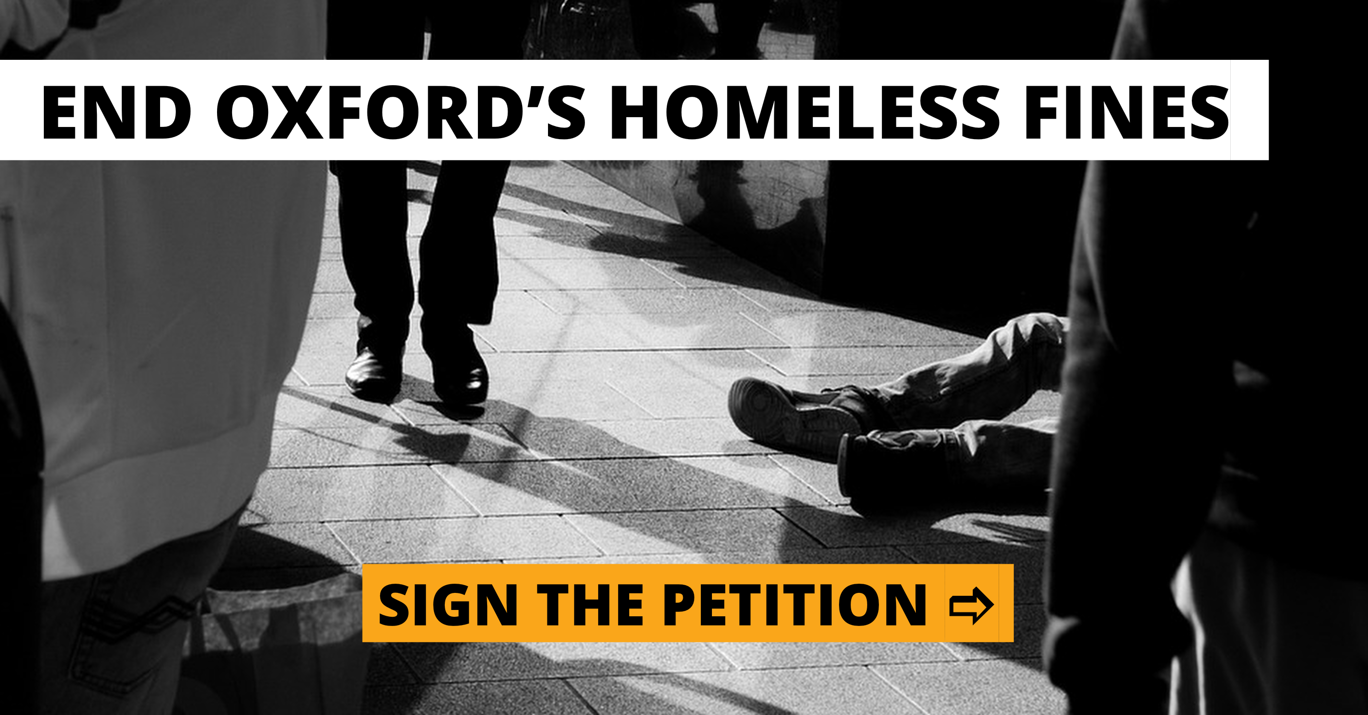 End Oxford's Homeless Fines